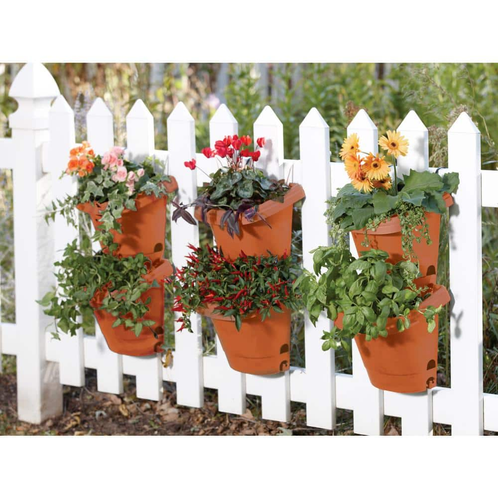 Best Containers for Your Container Garden - Hanging Fence Planters